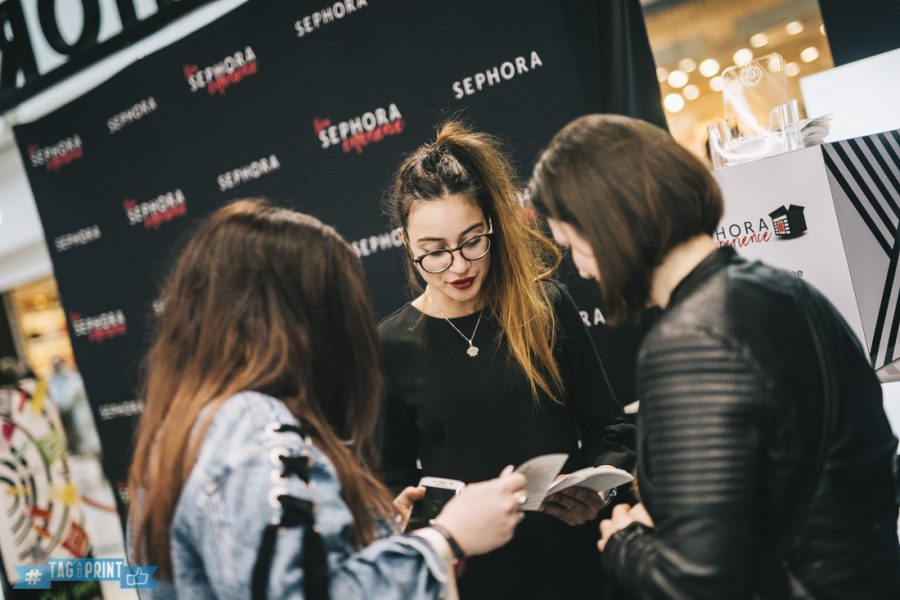 sephora paris evenement borne photo instagram photobooth insta printer tag and print agence relation presse